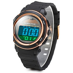 SKMEI Men's Sport Watch Wrist watch Digital Watch Digital Alarm Calendar Solar Water Resistant / Water Proof Luminous Stopwatch LCD Rubber