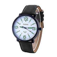 preiswerte Herrenuhren-Herrn Militäruhr / Armbanduhr Armbanduhren für den Alltag PU Band Charme Schwarz / Braun / Edelstahl / SSUO 377