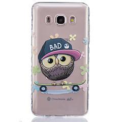 Mert Samsung Galaxy tok Átlátszó Case Hátlap Case Bagoly Puha TPUJ7 / J5 (2016) / J5 / J3 / J2 / J1 (2016) / J1 Ace / J1 / Grand Prime /