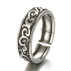 Κρίκοι Μοντέρνα / Προσαρμόσιμη Καθημερινά / Causal Κοσμήματα Ασήμι Στερλίνας Γυναικεία / ΆντρεςΔαχτυλίδια για τη Μέση του Δαχτύλου /