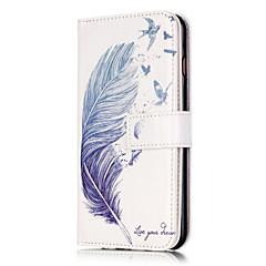 Для Кейс для iPhone 6 / Кейс для iPhone 6 Plus Бумажник для карт / Флип Кейс для Чехол Кейс для Перо Твердый Искусственная кожаiPhone 7