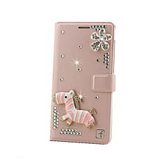 Недорогие Кейсы для iPhone 7-Кейс для Назначение Apple Кейс для iPhone 5 iPhone 6 iPhone 6 Plus iPhone 7 Plus iPhone 7 Бумажник для карт Флип Чехол 3D в мультяшном
