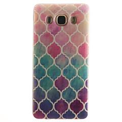 billige Andre etuier / covers til Samsung-For Samsung Galaxy etui IMD Etui Bagcover Etui Geometrisk mønster Blødt TPU forTrend 3 J7 (2016) J5 (2016) J5 J1 (2016) J1 Ace J1 Grand