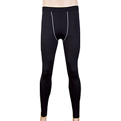 남성용 러닝 타이츠 헬스 레깅스 빠른 드라이 땀 흡수 기능성 소재 사이클링 스타킹 하단 용 운동&피트니스 달리기 블랙 그레이 레드 그린 블루 M L XL