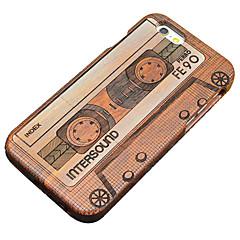 Для Кейс для iPhone 5 Чехлы панели Бумажник для карт Кошелек со стендом Флип С узором Задняя крышка Кейс для С сердцем Твердый Дерево для