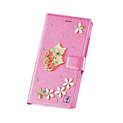 Для Кейс для iPhone 7 / Кейс для iPhone 7 Plus / Кейс для iPhone 6 / Кейс для iPhone 6 Plus / Кейс для iPhone 5Бумажник для карт / со