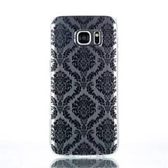 Kompatibilitás Samsung Galaxy S7 Edge tokok Átlátszó Minta Case Csempe mert Samsung S7 edge S7 S6 edge plus S6 edge S6 S4 Mini S4