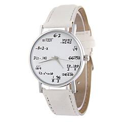 お買い得  大特価腕時計-女性用 リストウォッチ ホット販売 PU バンド カトゥーン / ファッション ブラック / 白 / ブルー / 1年間 / SSUO LR626