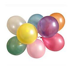 100pcs/lot Latex Helium Inflable Thicke Pearl bröllop eller födelsedagsfest ballong