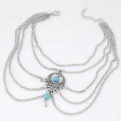 Feminino Tornezeleira/Pulseiras Liga Estilo Boêmio Europeu bijuterias Jóias Para Festa Diário Casual