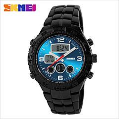 preiswerte Tolle Angebote auf Uhren-SKMEI Armbanduhr Sender Wasserdicht Schwarz / Blau