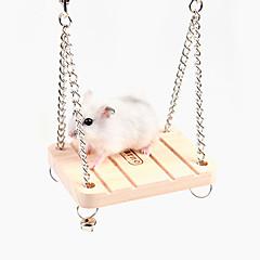 abordables Accesorios para Animales Pequeños-Hámster Madera Diseño especial / Impermeable / Multifunción Blanco