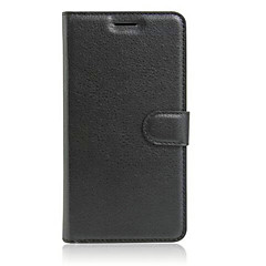 For Wiko Case Card Holder / with Stand / Flip Case Full Body Case Solid Color Hard PU Leather Wiko