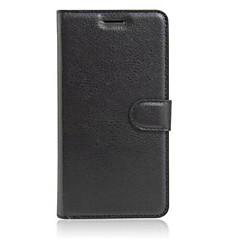 Недорогие Чехлы и кейсы для Xiaomi-Кейс для Назначение Другое Xiaomi Кейс для Mi Бумажник для карт Кошелек со стендом Флип Чехол Сплошной цвет Твердый Кожа PU для