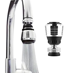 cheap Faucets-Faucet accessory - Superior Quality - Contemporary Plastic Chrome Water Spout - Finish - Chrome