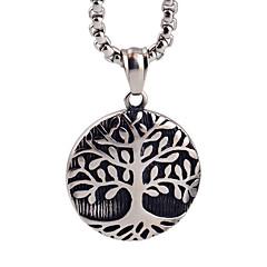 생명의 보석 펜던트 목걸이의 나무