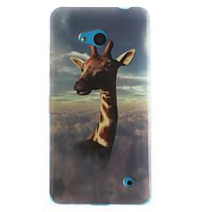 Недорогие Чехлы и кейсы для Nokia-Кейс для Назначение Nokia Lumia 630 Nokia Nokia Lumia 530 Кейс для Nokia С узором Кейс на заднюю панель Животное Мягкий ТПУ для