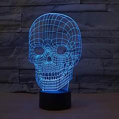 abordables Lámparas LED Novedosas-1 pieza Luz nocturna 3D USB Regulable 5 V