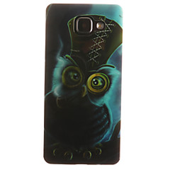 voordelige Galaxy A5 Hoesjes / covers-Voor Samsung Galaxy hoesje IMD hoesje Achterkantje hoesje Uil Zacht TPU Samsung A7(2016) / A5(2016) / A3(2016) / A5 / A3