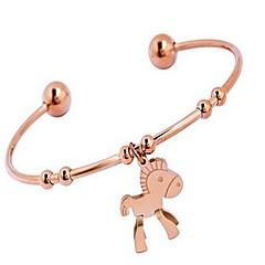 Damskie Bransoletki bangle Bransoletki cuff Modny Bohemia Style Stop Animal Shape Golden Biżuteria NaCodzienny Casual Prezenty