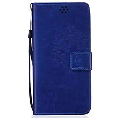 Для Samsung Galaxy Note Бумажник для карт / Кошелек / со стендом / Флип / Рельефный Кейс для Чехол Кейс для Одуванчик МягкийИскусственная