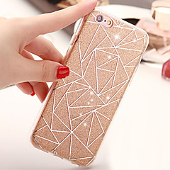 New Irregular Graphics Glitter TPU Soft Case Phone Case for iPhone 6/6S/6 Plus/6S Plus
