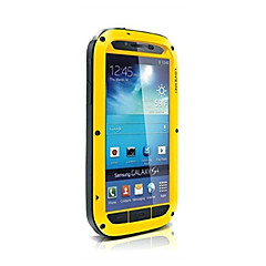 amar mei caja de metal a prueba de agua de aluminio a prueba de golpes gorilas para i9500 Samsung Galaxy S4 (colores surtidos)