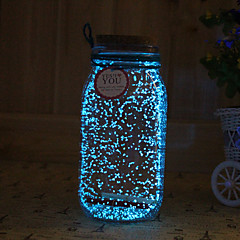 1PC Solar Noctilucence Night Light Artware Tampion Wishing Bottle Night Light