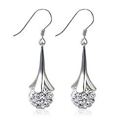 preiswerte Ohrringe-Damen Ohrring - Sterling Silber, Silber Modisch, Geburtssteine Silber Für Hochzeit / Party / Alltag