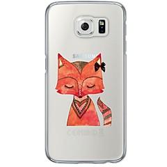 For Samsung Galaxy S7 Edge Transparent Mønster Etui Bagcover Etui Dyr Blødt TPU for Samsung S7 edge S7 S6 edge plus S6 edge S6 S5 S4