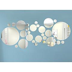 ราคาถูก Wall Art-3D สติกเกอร์ติดผนัง สติ๊กเกอร์กระจกติดฝาผนัง สติ๊กเกอร์ประดับผนัง, ไวนิล ของตกแต่งบ้าน รูปลอกผนัง กำแพง