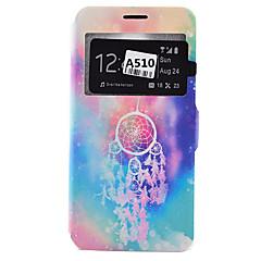tanie Galaxy A5 Etui / Pokrowce-Kılıf Na Samsung Galaxy Samsung Galaxy Etui Etui na karty Odporne na kurz Odporne na wstrząsy Z podpórką Pełne etui Inny Miękkie Skóra PU
