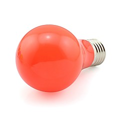 Korkealaatuinen led-lamppu kodin sisustusvalo 5w 450-500lm e27 20 smd 3020 punainen ac100-240v (1 kpl)