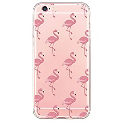 Flamingos Pattern TPU Ultra-thin ranslucent Soft Back Cover for iPhone 7 7 Plus 6s 6 Plus SE 5s 5