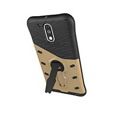 Χαμηλού Κόστους Θήκες / Καλύμματα για Motorola-Για Θήκη Motorola Ανθεκτική σε πτώσεις / με βάση στήριξης tok Πίσω Κάλυμμα tok Πανοπλία Σκληρή PC Motorola Moto G4 Play / Moto Z