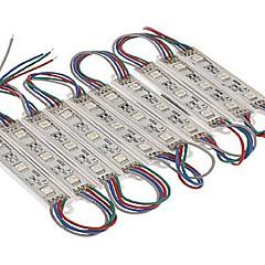 preiswerte LED Lichtstreifen-SENCART 1.5 60 LEDs Warmes Weiß / RGB / Weiß Schneidbar / Wasserfest / Verbindbar 12V / 5050 SMD / IP68 / Für Fahrzeuge geeignet