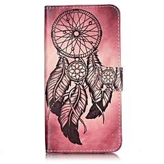 Недорогие Кейсы для iPhone 7-Кейс для Назначение iPhone 7 Plus IPhone 7 Apple iPhone 6 iPhone 7 Plus iPhone 7 Бумажник для карт Кошелек Флип Чехол Ловец снов Твердый