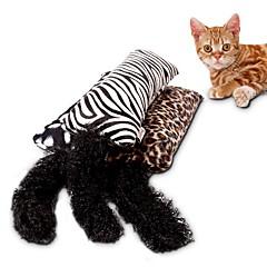 economico Giocattoli per cani-Gicattoli catnip all'erba gatta Cannette gioco per gatti Tiragraffi Leopardo Tessile Spugna Per Gatto Gattino
