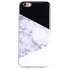 お買い得  iPhone 5S/SE ケース-ケース 用途 Apple iPhone 8 iPhone 8 Plus iPhone 5ケース iPhone 6 iPhone 6 Plus パターン バックカバー マーブル ソフト TPU のために iPhone 8 Plus iPhone 8 iPhone 6s