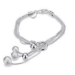 Dames Armbanden met ketting en sluiting Bedelarmbanden Wikkelarmbanden oversteekplaats Modieus Punk-stijl Aanbiddelijk