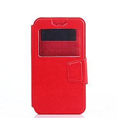 Недорогие Чехлы и кейсы для Sony-Кейс для Назначение Sony Z5 / Sony Xperia XA Ультра / Sony Xperia C5 Ультра Xperia Z5 / Xperia XA / Кейс для Sony Защита от удара / Защита от пыли / со стендом Чехол Однотонный Твердый Кожа PU для