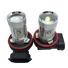 abordables Luces de Niebla de Coche-Coche Bombillas 30W SMD LED 2400lm 6 Luz Antiniebla