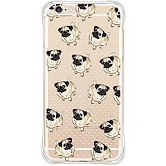 Dog Back Anti shock/Dust Free/Waterproof/Transparent TPU Soft Case For i6s Plus/6 Plus/6s/6/SE/5S/5