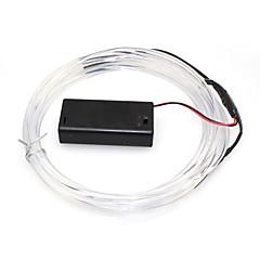 abordables Ledes-1 pieza 500cm Accesorio de iluminación Chip LED El plastico