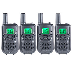 FRS/GMRS Duarable Handheld Two Way Radios for Kids Children Use Walkie Talkie 22 Channels 38CTCSS Up to 6KM(2 Pairs)