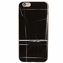 Недорогие Кейсы для iPhone 7-Кейс для Назначение Apple Кейс для iPhone 5 iPhone 6 iPhone 7 С узором Кейс на заднюю панель Мрамор Мягкий ТПУ для iPhone 7 Plus iPhone 7
