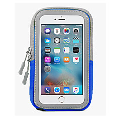 Mert iPhone 6 tok / iPhone 6 Plus tok Vízálló Case Karpánt Case Egyszínű Puha PC AppleiPhone 6s Plus/6 Plus / iPhone 6s/6 / iPhone