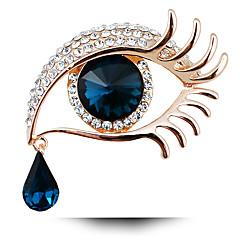 Feminino Broches Moda Personalizado bijuterias Cristal Jóias Para Festa Diário Casual