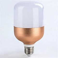 1pc 18w e27 1600lm koele witte kleur led spotlights globe verlichting rose gouden shell (ac160-265v)