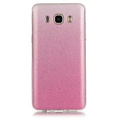 お買い得  Samsung その他の機種用ケース/カバー-ケース 用途 Samsung Galaxy Samsung Galaxy ケース パターン バックカバー カラーグラデーション ソフト TPU のために J7 (2016) / J7 / J5 (2016)